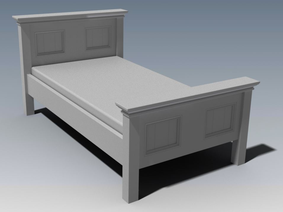 CRAFTON KING SINGLE BED (Building Plans ONLY)
