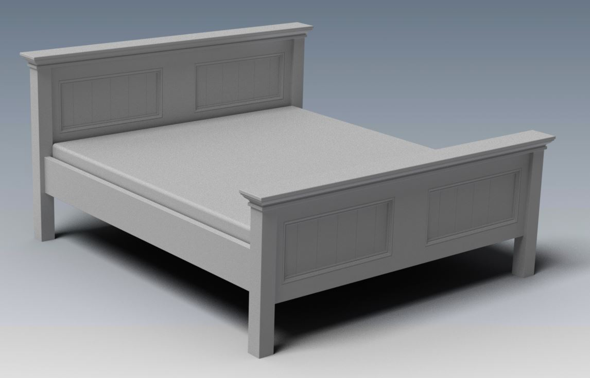 CRAFTON KING BED (Building Plans ONLY)